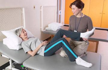 Уход за больными с переломом шейки бедра